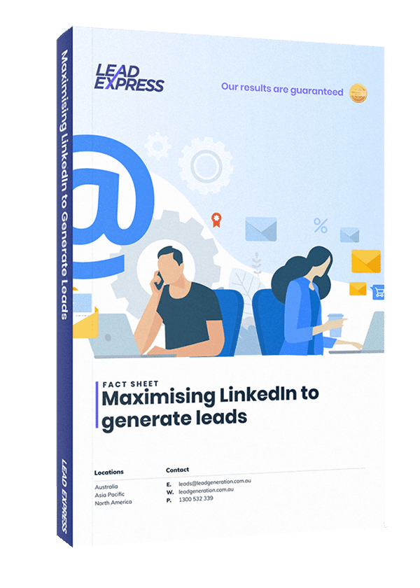 Book Cover - Maximizing LinkedIn To Generate Leads